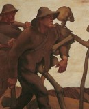 Albin Egger-Lienz.<em>Danse of Death  from the Year 1809-1908</em> © Belvedere, Vienna