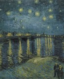 Vincent van Gogh, <em>Starry Night over the Rhône</em>, 1888. Musée d´Orsay, Paris