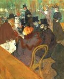 Henri de Toulouse-Lautrec. <em>In the Moulin Rouge</em> © The Art Institute of Chicago