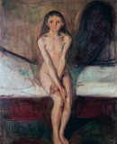 Edvard Munch. <em>Puberty</em>, 1894-1895 ©Munchmuseet