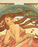 Alphonse Mucha. <em>The Arts: Dance</em>, 1898 (detail) © Mucha Trust 2017