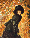 James Tissot. <em>October</em> 1877. Oil on canvas. Image provided courtesy of the Fine Arts Museums of San Francisco