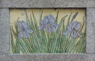 Author unknown, 1912. Detail of waterlilies on the façade of Edificio dos Lirios. Aveiro