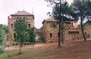 School and teacher's house of Colonia Güell. Santa Coloma de Cervelló