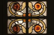 Manel Joaquim Raspall i Mallol, 1917-1922. Casa Viader, detail of stained glass window.