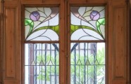 Manuel Joaquim Raspall, 1908. Casa Golferichs. Window of the dining room