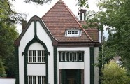 Peter Behrens's own house, 1901