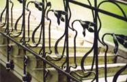 Architect unknown, 1905. Staircase railing of the dwelling at 4 Kikodze St.