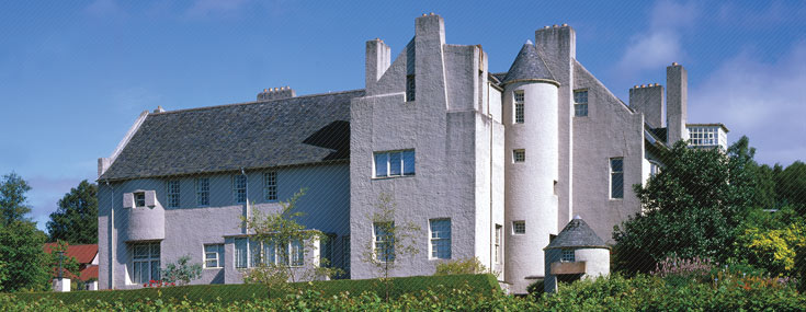 Charles Rennie Mackintosh, 1902-1904. The Hill House, view from the south (© The National Trust for Scotland Photo Library)