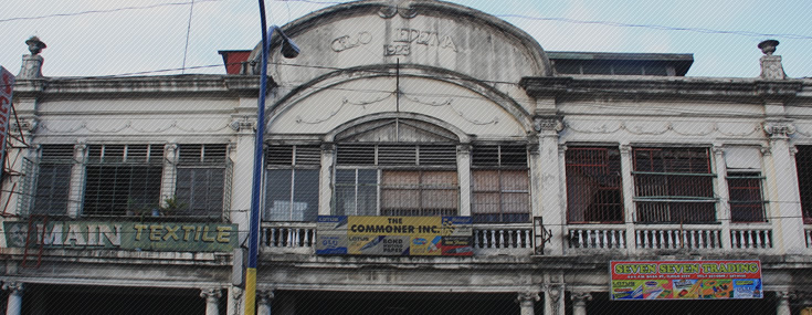 Celso Ledesma Building in the City of Ilo-ilo was built in 1923 (© Heritage Conservation Society)
